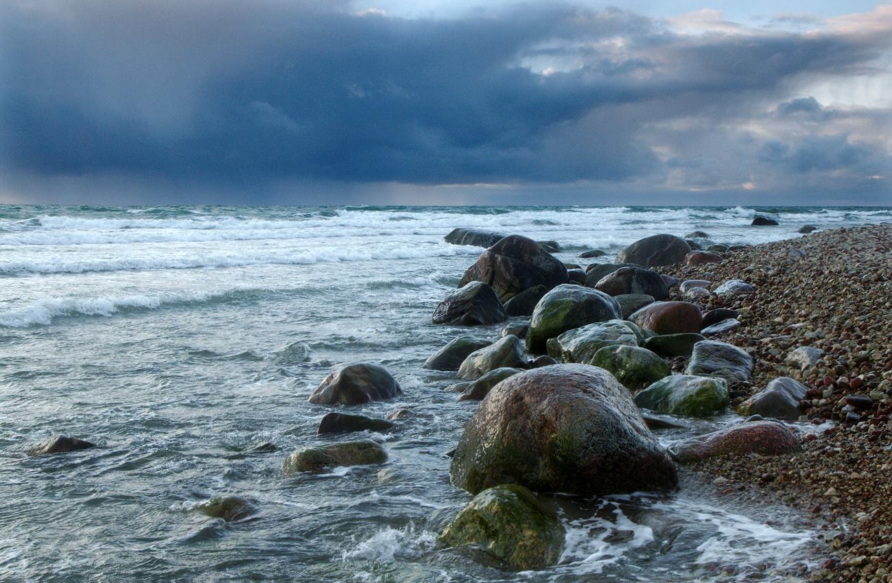 Tuuline rand Hiiumaal