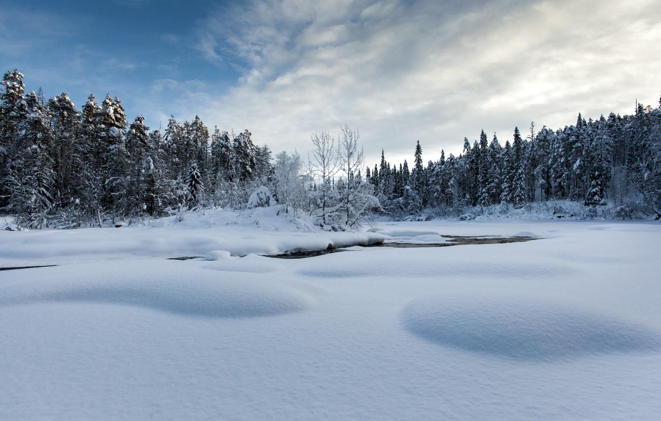 Külmunud jõel