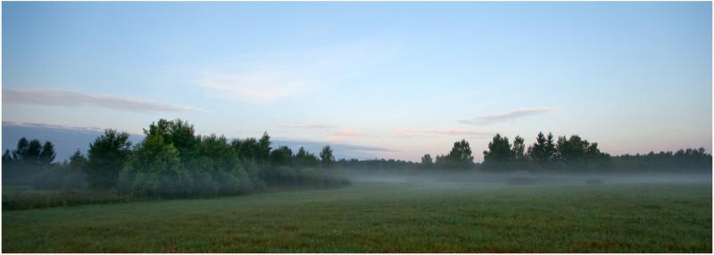 Hommikune maastik