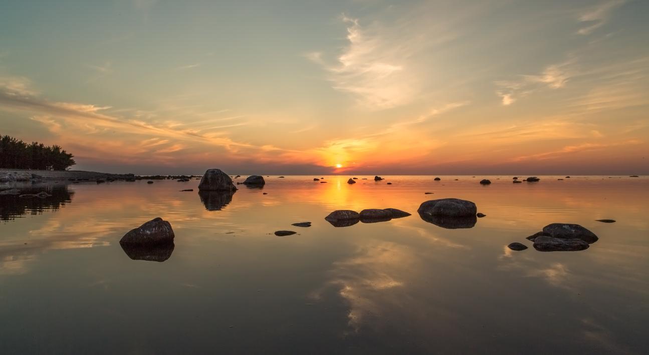 Päikeseloojang Hiiumaal