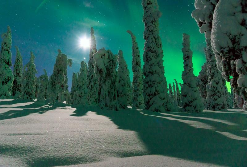 Talvine Lapimaa vaade